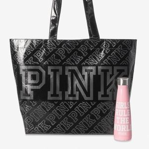 PIBK VS Reusable Tote and Water Bottle Set